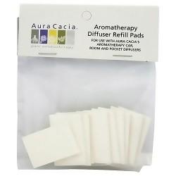 Aura Cacia Aromatherapy diffuser refill pads, 10 ea