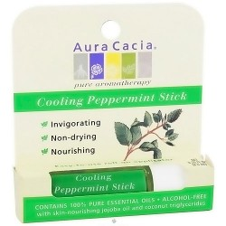 Aura Cacia Cooling Peppermint Stick - 0.31 oz, 6 pack