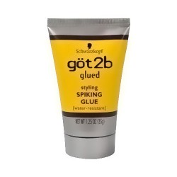 Got2b Glued Styling Spiking Water Resistant Glue - 1.25 oz