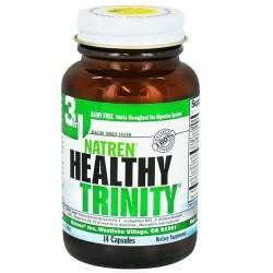 Natren healthy trinity 14 day capsules dairy free - 14 ea