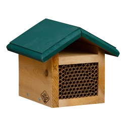 Welliver Outdoors mason bee house cedar - 1 ea