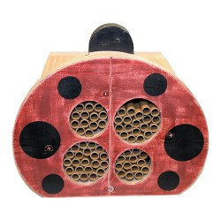 "Welliver Outdoors welliver mason bee ""ladybug"" house - 4 ea"