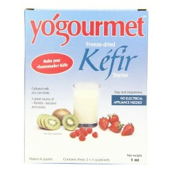 Yogourmet freeze dried kefir starter colored milk - 1 oz