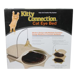 Innovation Pet, Inc. kitty connection cat eye bed - 12 ea
