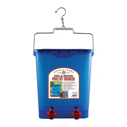 Harris Farms Llc. free range poultry watering cup drinker - 4 gallon, 6 ea
