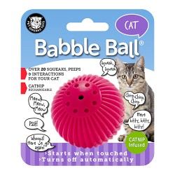 Pet Qwerks babble ball with catnip - small, 72 ea