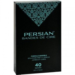 Parissa Persian Wax Strips for Legs - 40 ea
