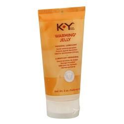 K-y warming sensation jelly personal lubricant - 5 oz