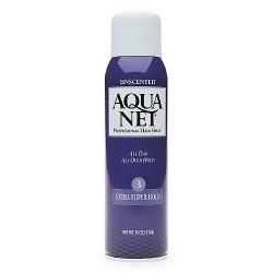 Aqua net aerosol extra super hold unscented hair spray - 11 oz