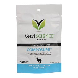 Pet Naturals Of Vermont composure for cats - 1.59oz/30ct, 6 ea