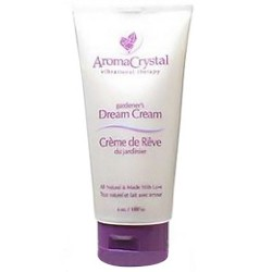 Aroma Crystal Vibrational Therapy Gardeners Dream Cream - 3 oz