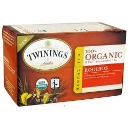 Twinings of london - organic rooibos - 20 tea bags