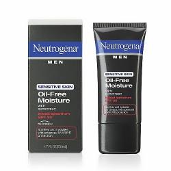 Neutrogena men oil free moisture for sensitive skin, spf 30 - 1.7 oz