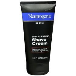 Neutrogena men skin clearing shave cream - 5.1 OZ