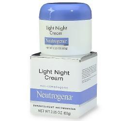 Neutrogena light night cream - 2.25 oz