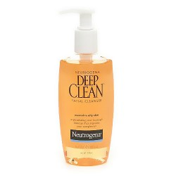 Neutrogena deep clean facial cleanser for normal to oily skin - 6.7 oz