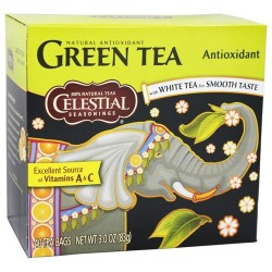 Celestial seasonings green tea natural antioxidant 40 tea bags