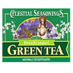 Celestial seasonings decaffeinated green tea - 20 bags, 6 pack