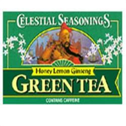 Celestial seasonings honey lemon ginseng green tea - 20 bags, 6 pack