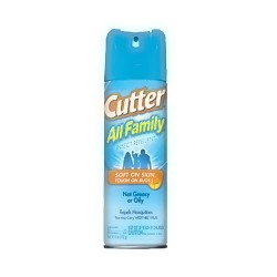 Cutter All Family Insect Repellent Aerosol - 6 oz