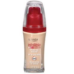 Loreal infallible never fail makeup spf 18, natural buff - 1 ea