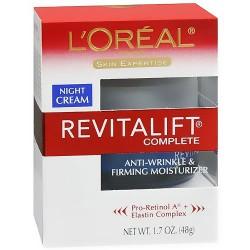 Loreal advanced revitaLift night cream, anti-wrinkle and firming moisturizer - 1.7 oz