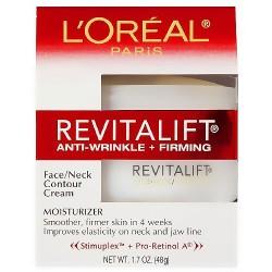 Loreal Advanced RevitaLift Face and Neck Day Cream - 1.7 Oz