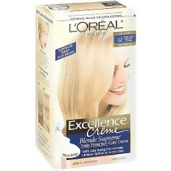 LOreal Excellence Triple Protection Hair Color Creme, 2 Extra Light Natural Blonde - 1 EA