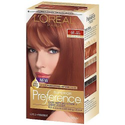 LOreal Superior Preference Hair Color, 6R Light Auburn - 1 Ea