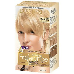 LOreal Superior Preference Hair Color, 9.5NB Lightest Natural Blonde - 1 Ea