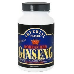 Imperial Elixir Korean red ginseng capsules - 100 ea