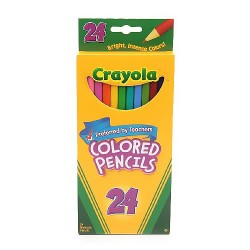 Crayola colored pencils - 24 ea