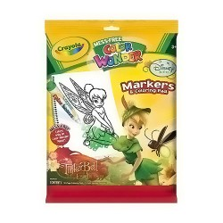 Tinkerbell Crayola Color Wonder Markers And Coloring Pad - 5 ea