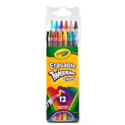 Crayola twistables colored pencils, non toxic - 12 ea