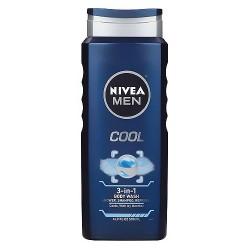Nivea for Men Body Wash, Cool - 16.9 oz