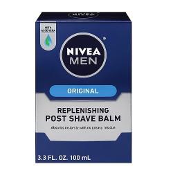 Nivea for men after shave balm, mild - 3.3 Oz