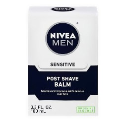 Nivea for men sensitive post shave balm - 3.3 oz