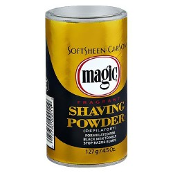 Magic fragrant shaving powder, gold - 4.5 oz