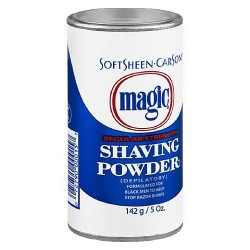 Carson magic regular strength shaving powder, Blue - 5 Oz