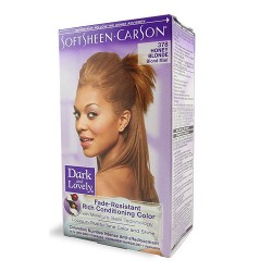 Softsheen Carson Dark And Lovely Hair Color, Long-Lasting True-To-Tone Color Honey Blonde - Kit