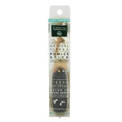 Earth Therapeutics natural sierra pumice stick Softens hard skin, 1 ea