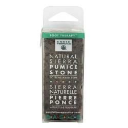 Earth Therapeutics natural sierra pumice stone Softens hard skin, 1 ea