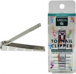Earth Therapeutics toenail clipper with catcher - 1 unit