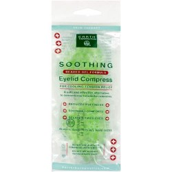 Earth therapeutics soothing eyelid compress - 2 pack