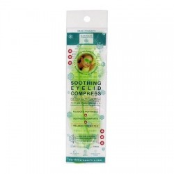 Earth therapeutics Fire and  Ice Herbal Eyelid Compress - 1 ea
