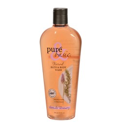 Pure and basic natural hand and body wash, lavender rosemary - 12 oz