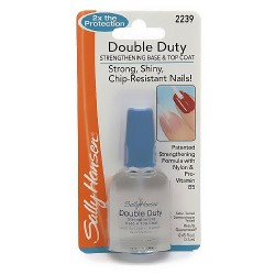 Sally Hansen double duty strengthening base and top coat  - 4 ea