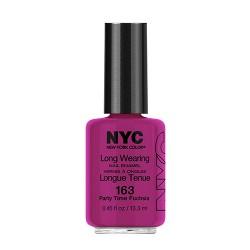 New York color long wearing nail enamel creme - 1 ea