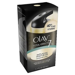 Olay total effects anti aging vitamin complex, fragrance free - 1.7 Oz