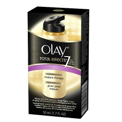 Olay Total Effects Anti Aging Facial Moisturizer Mature Skin Therapy, 1.7 Oz